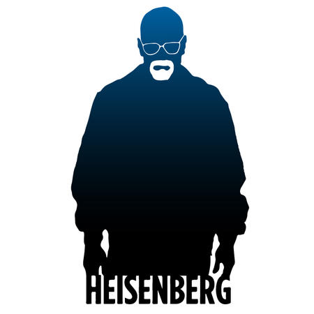 T-SHIRT BrBa HEISENBERG BLU