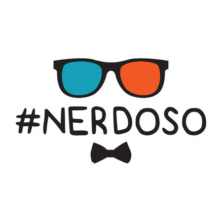 T-SHIRT #NERDOSO NERD-NEOLOGISMO
