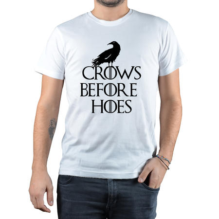 T-SHIRT FANDOM - CROWS BEFORE HOES 1