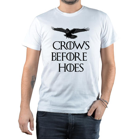 T-SHIRT FANDOM - CROWS BEFORE HOES 2