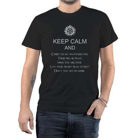 T-SHIRT FANDOM - SUPERNATURAL KEEP CALM