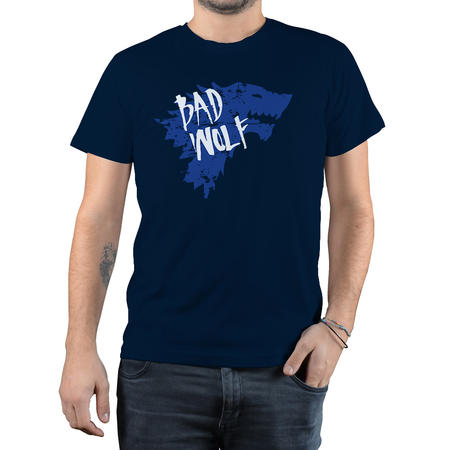 T-SHIRT FANDOM - DOCTOR WHO BAD WOLF