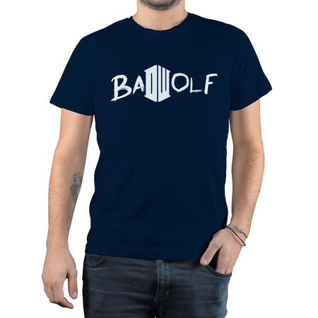 T-SHIRT FANDOM - DOCTOR WHO BAD WOLF 3