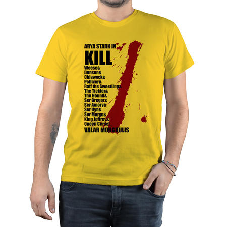 T-SHIRT FANDOM - GOT ARYA KILL