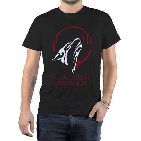T-SHIRT GOT FANDOM - NORTH REMEMBERS
