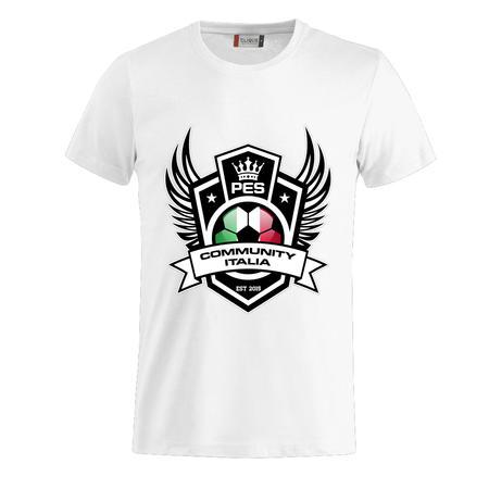 T-SHIRT LOGO PESCOMMUNITY ITALIA