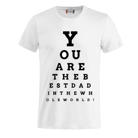 T-SHIRT DAD LETTERS