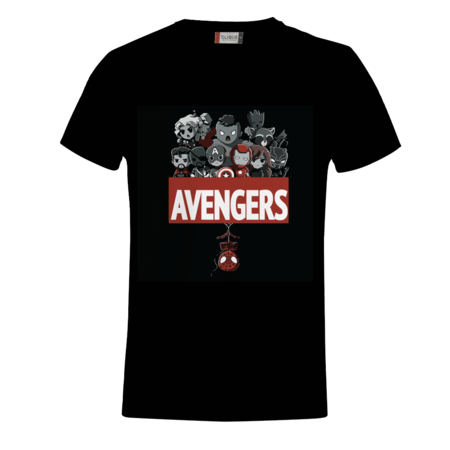 T-SHIRT CARTOON AVENGERS