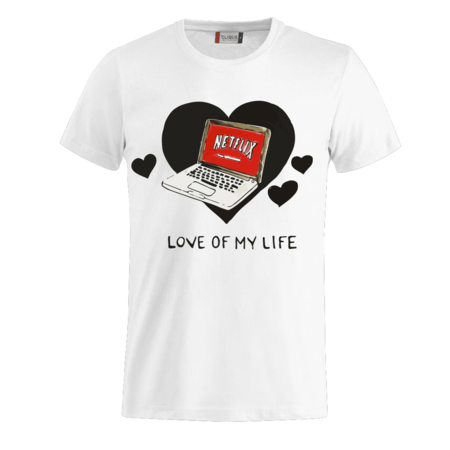 T-SHIRT LOVE MY LIFE