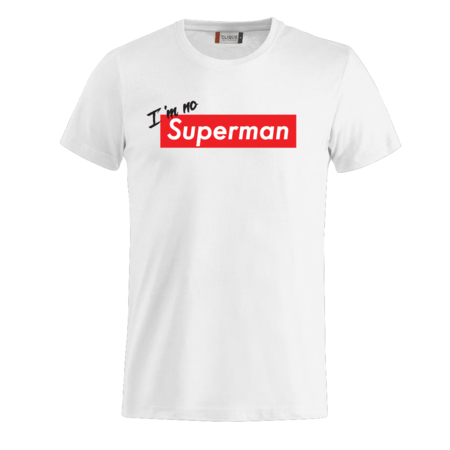 T-SHIRT I'M NO SUPERMAN
