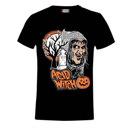 T-SHIRT HALLOWEEN - ACID WITCH