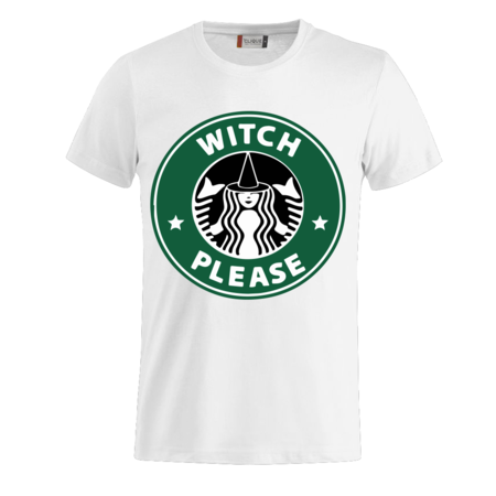 T-SHIRT HALLOWEEN - WITCH PLEASE
