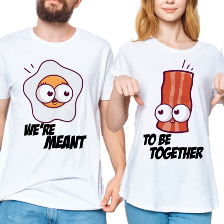 T-SHIRTS EGG & BACON