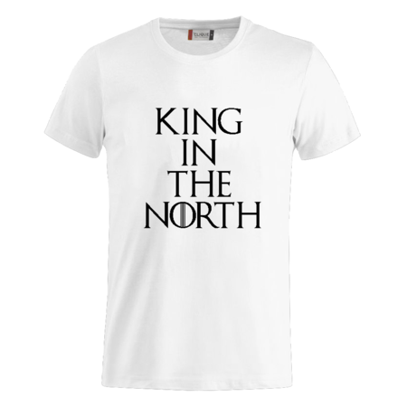 T-SHIRT GOT KING IN THE NORTH