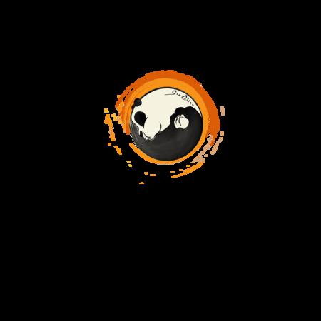 FELPA ROUND GIOCALIEN - PANDA ARANCIO TAO