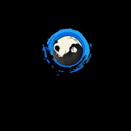 T-SHIRT GIOCALIEN - PANDA BLUE TAO