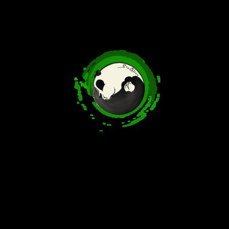 T-SHIRT GIOCALIEN - PANDA GREEN TAO