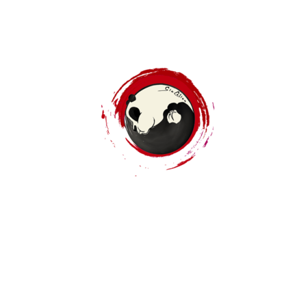 FELPA ROUND GIOCALIEN - PANDA RED TAO