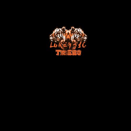 FELPA LUKE4316 - TIGERS ARANCIO