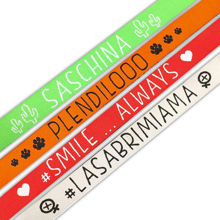 KIT2 BRACCIALI LASABRI - LASABRIMIAMA - SMILE - SASCHINA - PLENDILOOO