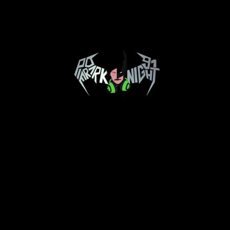 FELPA CAPPUCCIO PierDarKnight91 FluoPDK - Logo grigio