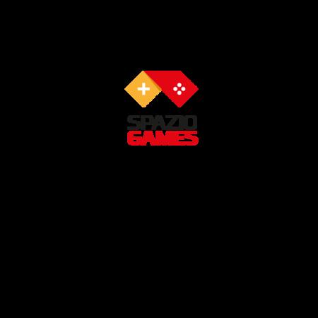 T-SHIRT SPAZIO GAMES GRIGIO CHIARO - SPAZIO GAMES