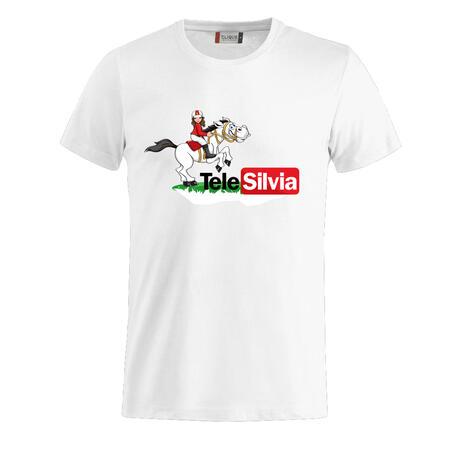 T-SHIRT LOGO TELESILVIA - TELE SILVIA