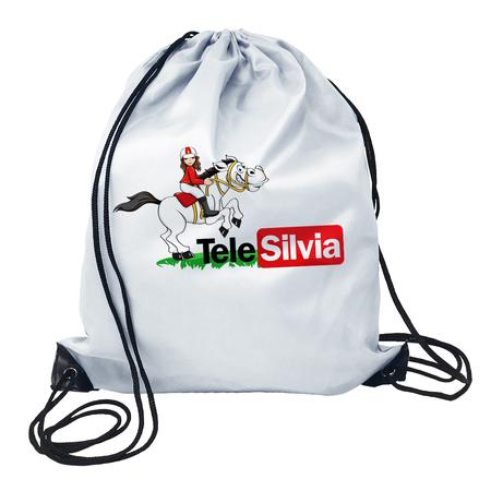 GYMSACK LOGO TELESILVIA - TELE SILVIA