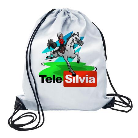 GYMSACK LOGO TELESILVIA BIS - TELE SILVIA