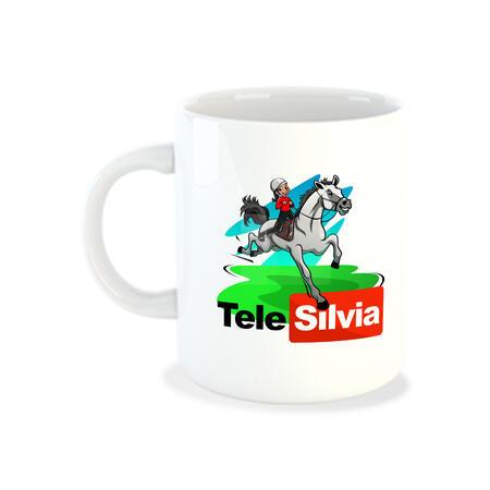 TAZZA LOGO TELESILVIA BIS - TELE SILVIA