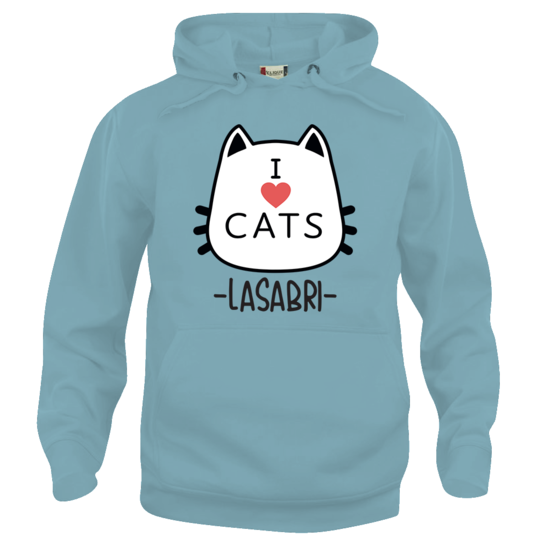 756493 538x538%23 0751 felpa i love cats light blue