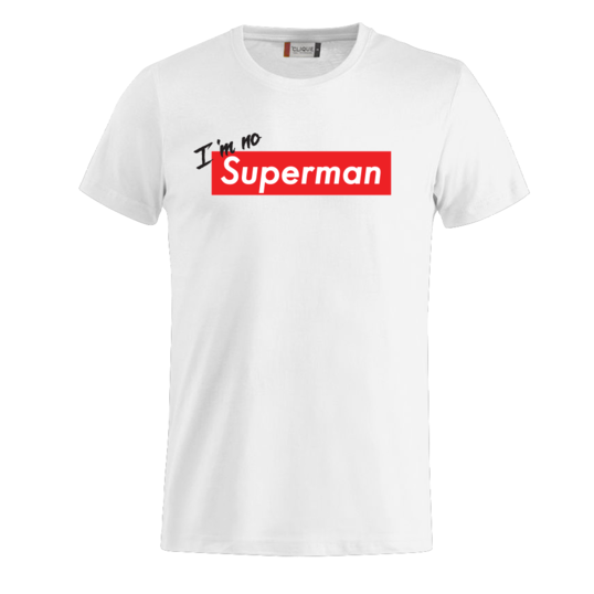 754145 538x538 0751 754144 i'm no superman tee